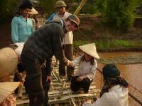 Ich helf beim Brückenbau